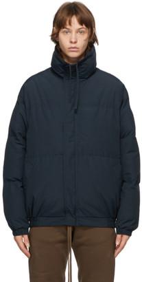 Essentials SSENSE Exclusive Navy Puffer Jacket