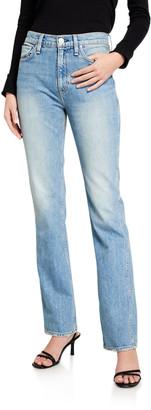 Hudson Abbey High-Rise Boot-Cut Jeans