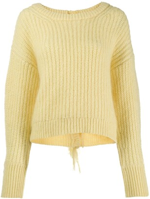 Kenzo Scoop Neck Knitted Jumper