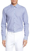 Sand Men's Regular Fit Shaded Dot Sport Shirt