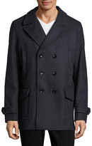 Michael Kors Double-Breasted Peacoat