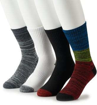 Tek Gear Men's 4-pack Cushioned Performance Crew Socks
