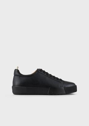 Giorgio Armani Deerskin Sneakers