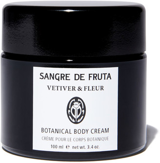 Sangre de Fruta Botanical Body Cream: Vetiver & Fleur