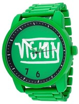 Vision Street Wear Men's Analog Watch - Green