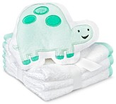 Circo Newborn 4-Piece Turtle Washcloth Set - Green
