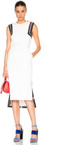 Preen by Thornton Bregazzi Datany Dress in Ivory & Black
