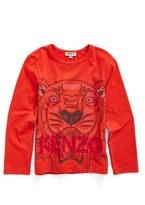 Kenzo Tiger Graphic Tee (Toddler Girls, Little Girls & Big Girls)
