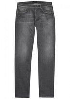 7 For All Mankind Slimmy Luxe Performance Grey Jeans
