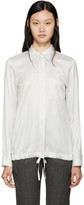 Jil Sander White & Black Virna Shirt