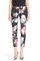 Ted Baker 'Ethereal Posie' Floral Print Crop Trousers
