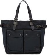 Belstaff Black Canvas Tote Bag