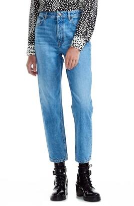 Maje Pario Straight Leg Jeans