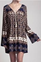 Blu Pepper Graceful Boho Tunic