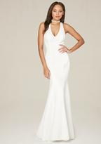 Bebe Odette Deep V Gown