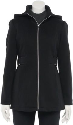 Details Petite Hood Fleece Jacket