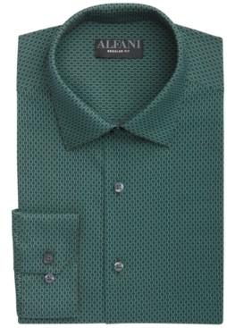Alfani Men's Modern Argyle Dress Shirt, Created for Macy's