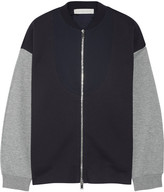Stella McCartney Cotton-blend Bomber Jacket - Midnight blue