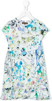 Roberto Cavalli printed dress - kids - Cotton/Spandex/Elastane - 10 yrs