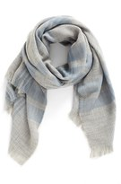 BP Women's Heathered Plaid Scarf