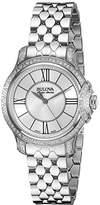 Bulova Women's 63R145 Analog Display Analog Quartz Silver Watch