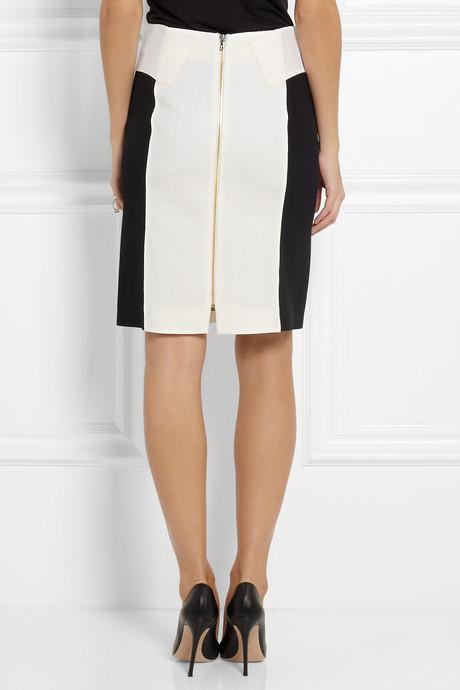 Roland Mouret Botein wool-crepe skirt
