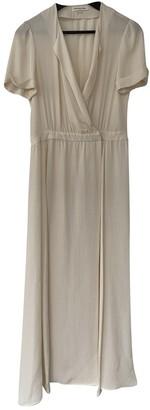 Etoile Isabel Marant Ecru Silk Dresses
