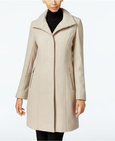 Kenneth Cole Wool-Blend Seamed Walker Coat