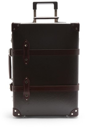 Globe-trotter Centenary 20 Cabin Suitcase - Dark Brown