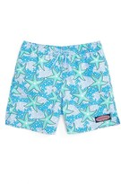 Vineyard Vines Boy's Underwater Starfish Bungalow Board Shorts