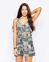 RVCA Sundress With Open Back