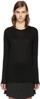 Etoile Isabel Marant Black Linen Karon T-shirt
