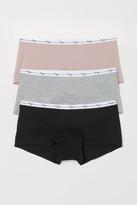 H&M 3-pack shortie briefs