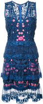 Marchesa floral dress