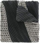Emporio Armani pleated scarf