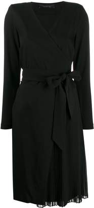 FEDERICA TOSI long-sleeve belted dress