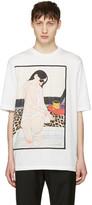 3.1 Phillip Lim White Woman Leopard T-Shirt