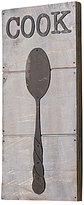 Mud Pie Spoon Wood & Metal Wall Art