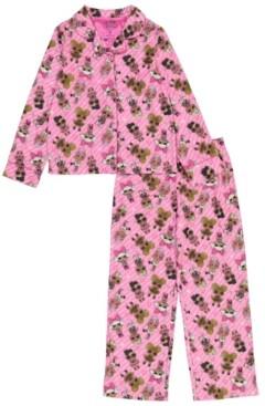AME Lol Surprise! Big Girl Coat 2 Piece Pajama Set