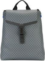 Emporio Armani logo print backpack