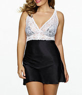Cassandra Plus Goddess Lace and Satin Chemise