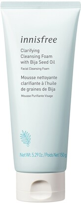 innisfree Claryifying Cleansing Foam with Bija Seed Oil