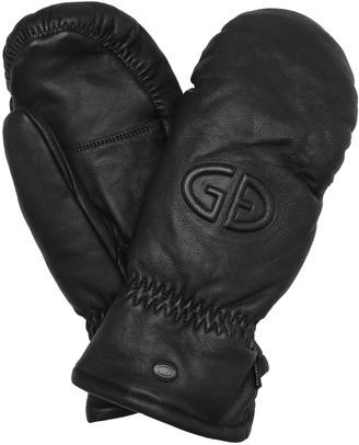 Goldbergh Hilja leather mittens