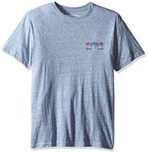 Margaritaville Men's Short Sleeve Rock and Roll Heathered T-Shirt