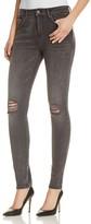 Mavi Jeans Alissa Skinny Jeans in Mid Grey Retro