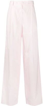 Maison Flaneur High-Waisted Trousers