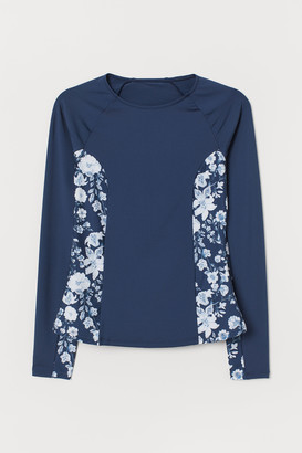 H&M Long-sleeved swim top