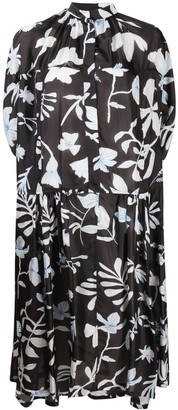 Christian Wijnants Dikra floral-print silk dress