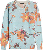 Etro Jasper Pullover with Wool, Cashmere and Metallic Thread
