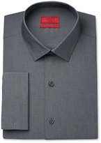 Alfani Men's Fitted Performance Micro-Stripe French Cuff Dress Shirt, Only at Macy's